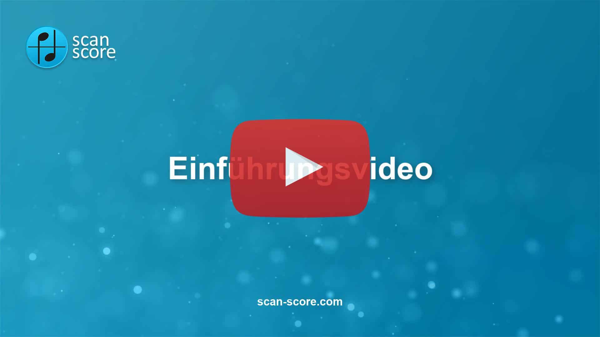 ScanScore-Einführungsvideo