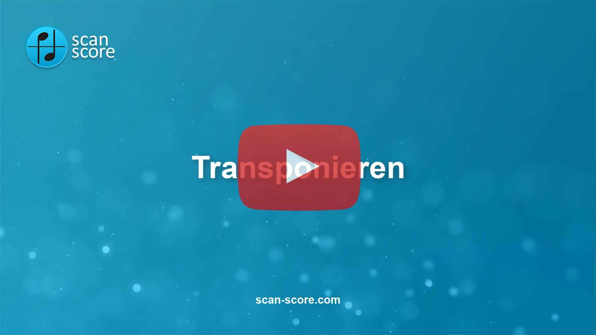 Transponieren